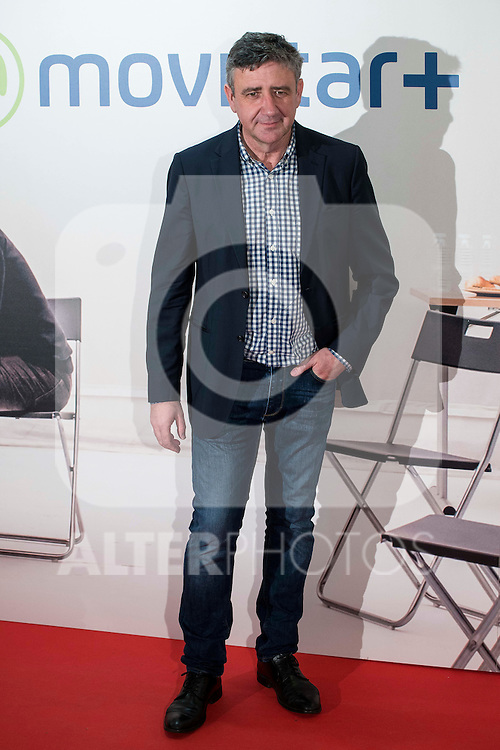 "Ramon Arangüena attends to the premire of the film ""Que fue de Jorge Sanz"" at Cinesa Proyecciones in Madrid. February 10, 2016."