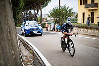 Margret Palsdottir (ISL)<br /> <br /> Women Elite Time trial from Imola to Imola (31.7km)<br /> <br /> 87th UCI Road World Championships 2020 - ITT (WC)<br /> <br /> ©kramon