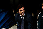 Real Madrid's coach Santiago Solari during La Liga match between Real Madrid and Real Valladolid at Santiago Bernabeu Stadium in Barcelona, Spain. November 03, 2018. (ALTERPHOTOS/A. Perez Meca)