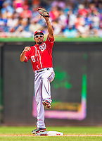 28 July 2013: Washington Nationals infielder Anthony Rendon in action against the New York Mets at Nationals Park in Washington, DC. The Nationals defeated the Mets 14-1. Mandatory Credit: Ed Wolfstein Photo *** RAW (NEF) Image File Available ***