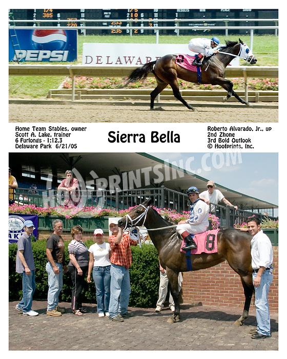 Sierra Bella winning at Delaware Park on 6/21/05