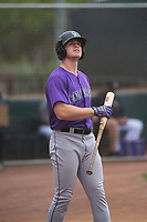 Colorado Rockies outfielder Daniel Jipping (45) during an Extended Spring Training game against the Arizona Diamondbacks at Salt River Fields at Talking Stick on April 16, 2018 in Scottsdale, Arizona. (Zachary Lucy/Four Seam Images)
