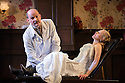 """""""In the Next Room' or """"The Vibrator Play"""" has its UK premiere at the Ustinov Studio Theatre, Bath. Written by Sarah Ruhl and Directed by Laurence Boswell. Picture shows: Paul Hickey (Dr Givings), Katie Lightfoot (Catherine Daldry)."""