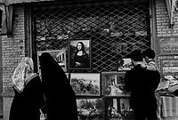 Isphahan, Iran, March 23, 2007.Street scene...