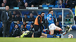Lewis Macleod crunched by Steven Bell