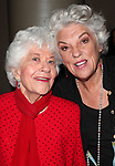Charlotte Rae & Tyne Daly attending the Actors Fund Gala honoring Harry Belafonte, Jerry Stiller, Anne Meara & David Steiner at the Mariott Marquis Hotel in New York City on 5/21/12