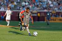 Minneapolis, MN - Saturday, May 26, 2018: Minnesota United FC played Montreal Impact in a Major League Soccer (MLS) game at TCF Bank stadium. Final score Minnesota United FC 2 , Montreal Impact 0