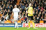 Real Madrid's Marcelo Vieira, Borussia Dortmund Julian during Champions League match between Real Madrid and Borussia Dortmund  at Santiago Bernabeu Stadium in Madrid , Spain. December 07, 2016. (ALTERPHOTOS/Rodrigo Jimenez)