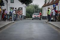 Mikkel Bjerg (DEN/UAE-Emirates)<br /> <br /> 88th UCI Road World Championships 2021 – ITT (WC)<br /> Men's Elite Time trial from Knokke-Heist to Brugge (43.3km)<br /> <br /> ©Kramon