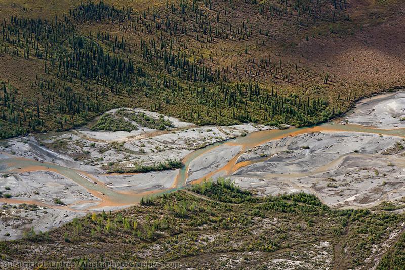 Hammond River, Brooks Range mountains, Gates of the Arctic National Park, Alaska.