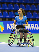 December 16, 2014, Rotterdam, Topsport Centrum, Lotto NK Tennis, Marjolein Buis (NED)<br /> Photo: Tennisimages/Henk Koster