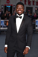 """Merveille Lukeba<br /> at the London Film Festival premiere for """"A United Kingdom"""" at the Odeon Leicester Square, London.<br /> <br /> <br /> ©Ash Knotek  D3160  05/10/2016"""