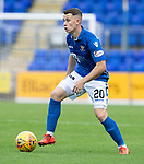 St Johnstone FC….Season 2019-20 <br />Kyle McClean<br />Picture by Graeme Hart. <br />Copyright Perthshire Picture Agency<br />Tel: 01738 623350  Mobile: 07990 594431