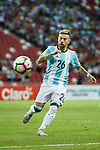 Alejandro Gomez of Argentina in action during the International Test match between Argentina and Singapore at National Stadium on June 13, 2017 in Singapore. Photo by Marcio Rodrigo Machado / Power Sport Images