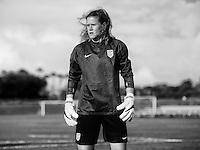 Orlando, FL - February 22, 2017: The USWNT trains in Orlando, Florida in preparation for the SheBelieves Cup.