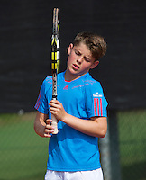 August 6, 2014, Netherlands, Rotterdam, TV Victoria, Tennis, National Junior Championships, NJK,  Jens Hoogendam (NED)<br /> Photo: Tennisimages/Henk Koster