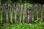Fence - Ephraim Bales House in the Smoky Mountains