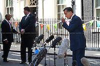 26.07.2012 - Mitt Romney at 10 Downing Street