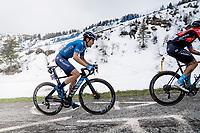Antonio Pedrero (ESP/Movistar) up the final part of the Monte Zoncolan <br /> <br /> 104th Giro d'Italia 2021 (2.UWT)<br /> Stage 14 from Cittadella›Monte Zoncolan (205km)<br /> <br /> ©kramon