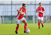 Lola Wajnblum  of Standard (11) pictured during a female soccer game between Standard Femina de Liege and Club Brugge YLA on the seventh matchday of the 2020 - 2021 season of Belgian Scooore Womens Super League , saturday 14 th of November 2020  in Angleur , Belgium . PHOTO SPORTPIX.BE | SPP | DAVID CATRY
