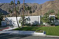 Mid-century Palm Springs house