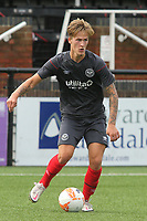 Fredrik Hammar of Brentford in action during Bromley vs Brentford B, Friendly Match Football at Hayes Lane on 3rd October 2020