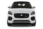 Car photography straight front view of a 2021 Jaguar E-Pace R-Dynamic-HSE 5 Door SUV Front View
