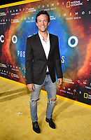 """LOS ANGELES - FEBRUARY 26: Kyle Schmid attends National Geographic's 2020 Los Angeles premiere of """"Cosmos: Possible Worlds"""" at Royce Hall on February 26, 2020 in Los Angeles, California. Cosmos: Possible Worlds premieres Monday, March 9 at 8/7c on National Geographic. (Photo by Frank Micelotta/National Geographic/PictureGroup)"""