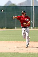 Ryan Wheeler - Arizona Diamondbacks 2009 Instructional League .Photo by:  Bill Mitchell/Four Seam Images..