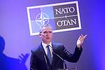 Secretary General of NATO Jens Stoltenberg in press conference. January 25,2018. (ALTERPHOTOS/Acero)