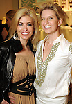 Nancy Marcus Golden and Lori Freese at the Young at Heart party at the Guess by Marciano store at the Galleria  Wednesday March 24,2010. (Dave Rossman Photo)