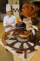 Students participate in hands-on recreational cooking classes at Johnson & Wales University's Charlotte NC campus as the Chef's Choice program. The culinary and baking classes, taught by JWU's professional chef instructors, are available to students of all ages and abilities. Shown: Senior Instructor Harry Peemoeller, a member of the Bread Bakers Guild of America.