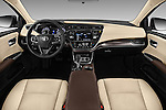 Stock photo of straight dashboard view of 2018 Toyota Avalon XLE 4 Door Sedan Dashboard