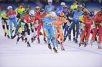 SCHAATSEN: HEERENVEEN: IJSSTADION THIALF: 10-11-2018, Marathonschaatsen, ©foto Martin de Jong