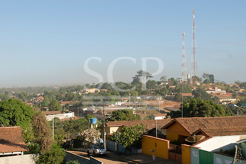 Pará State, Brazil. The town of Tucumã.