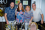 Celebrating the Lorraine Williams birthday in the Grand Hotel on Saturday, l to r: Pa and Elaine Bailey, Maureen and Brian Williams.