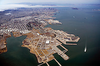 Hunters Point | San Francisco Aerial Photography