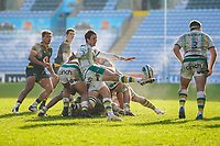 6th February 2021; Ricoh Arena, Coventry, West Midlands, England; English Premiership Rugby, Wasps versus Northampton Saints; Alex Mitchell of Northampton Saints clears the ball down the pitch