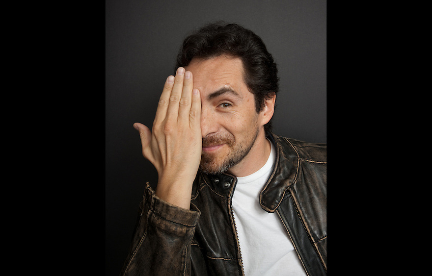 Actor Damian Bichir photographed for The Creative Coalition at Haven House in Beverly Hills, California on February 20, 2009