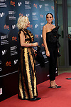 Tamara Falco, Eugenia Martinez de Irujo,  attend The red carpet at 'Oso', during the 68th San Sebastian Donostia International Film Festival - Zinemaldia.September 25,2020.(ALTERPHOTOS/Yurena Paniagua)