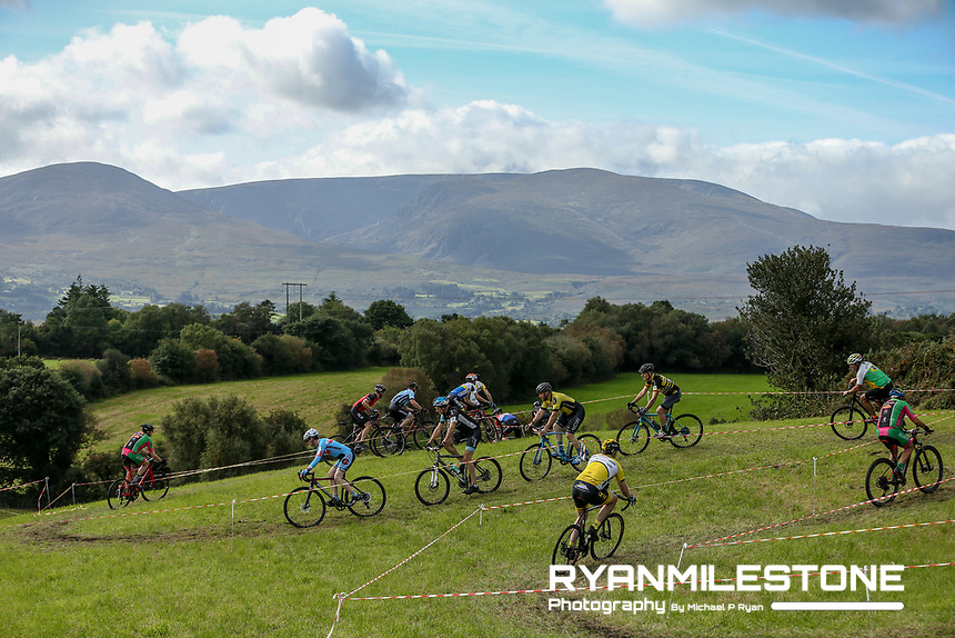 Action from the Munster CX League Round 1 which was hosted by Killarney Cycling Club on Sunday 16th September 2018 at Ballahacommane, Co. Kerry, <br /> Photo By Michael P Ryan