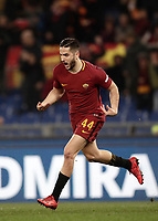 Calcio, Serie A: AS Roma - Torino Roma, stadio Olimpico, 9 marzo, 2018.<br /> Roma's Kostas Manolas celebrates after scoring during the Italian Serie A football match between AS Roma and Torino at Rome's Olympic stadium, 9 marzo, 2018.<br /> UPDATE IMAGES PRESS/Isabella Bonotto