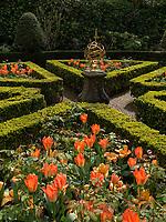 Garten von Grachtenhaus Museum van Loon, Kaizersgracht 672, Amsterdam, Provinz Nordholland, Niederlande<br /> Garden, Grachtoause Museum van Loon, Kaizersgracht 672, Amsterdam, Province North Holland, Netherlands