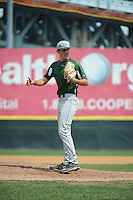 University of South Florida Bulls pitcher Justin Patrick (34) during a game against the Temple University Owls at Campbell's Field on April 13, 2014 in Camden, New Jersey. USF defeated Temple 6-3.  (Tomasso DeRosa/ Four Seam Images)