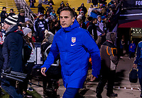 COLUMBUS, OH - NOVEMBER 07: Milan Ivanovic of the United States enters the field during a game between Sweden and USWNT at Mapfre Stadium on November 07, 2019 in Columbus, Ohio.