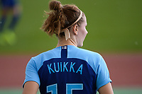 20190227 - LARNACA , CYPRUS : Finnish midfielder Natalia Kuikka Kopparbergs pictured during a women's soccer game between the South African Banyana Banyana and Finland , on Wednesday 27 February 2019 at the GSZ Stadium in Larnaca , Cyprus . This is the first game in group A for both teams during the Cyprus Womens Cup 2019 , a prestigious women soccer tournament as a preparation on the Uefa Women's Euro 2021 qualification duels and the Fifa World Cup France 2019. PHOTO SPORTPIX.BE | STIJN AUDOOREN