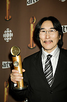 "Montreal (Qc) CANADA - March 29 2009 - Jutras award  Gala (for Quebec Cinema) : Natar Ungalaaq, Meilleur acteur (Best actor), Ce qu""il faut pour vivre (The Necessities of Life aka Inuujjutiksaq) ,"