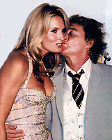 Rod Stewart Penny Lancaster 2003 Photo By John Barrett/PHOTOlink