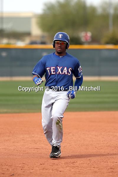 Andy Ibaniez - Texas Rangers 2016 spring training (Bill Mitchell)