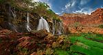 50 Foot Falls, Havasupai Reservation, Grand Canyon National Park, Arizona